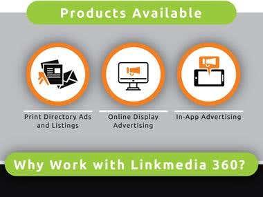 Banner for LinkMedia 360