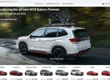 Online automobile tools