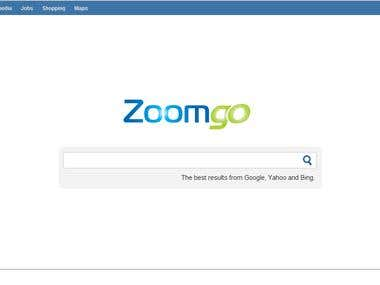Zoomgo Search Engine