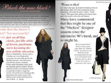 Fashion Trends,CHICToday UK magazine article