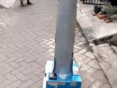 A Giant Robot Powered by Minipc, and Arduino