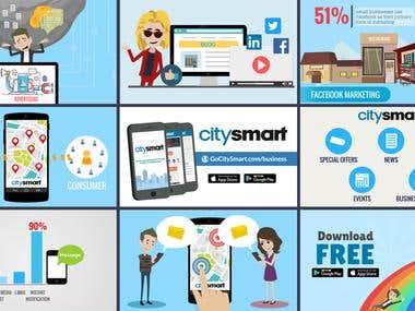 City Smart App Explainer Video