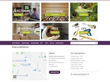ECommerce Website Design, Development