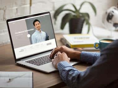 custom coded lawyer website