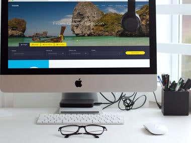 full custom hotel holiday website