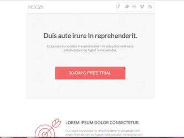 Mooza(Email Template)