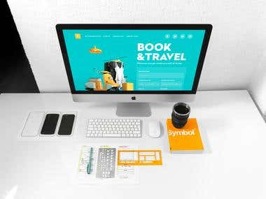 Book and Travel Website