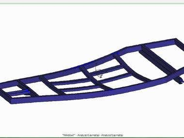 Simulation of Chassis of CMTM