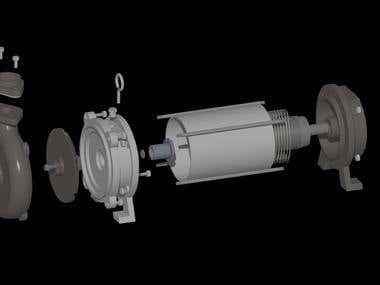 Design of Submersible Pump
