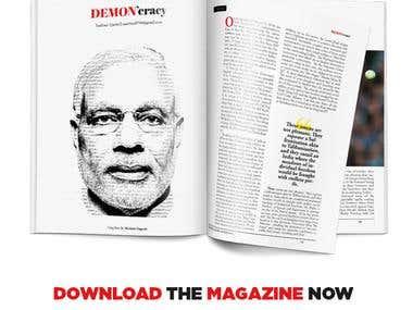 Layout Design - Magazine Inner Content