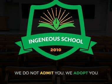 Logo Design - Ingenious School of Education