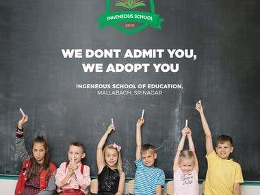 Graphics - Banner Design for Ingenious School of Education