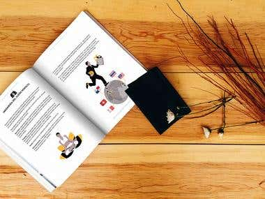 Book design - illustrations and cover