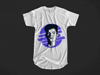 T-Shirt Design With Vector art or Flat Art
