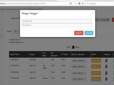 Airport Emanifest Application
