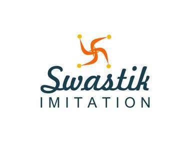 Swastik logo design