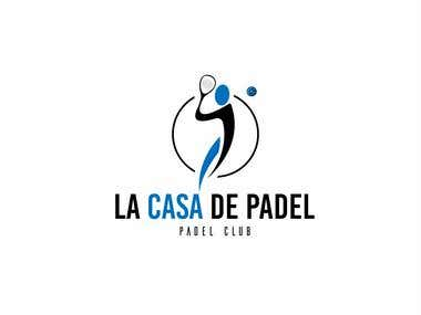 Logo for an Indoor Paddle Center
