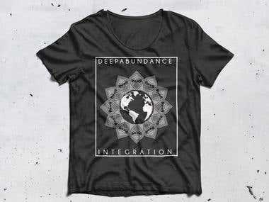 Mandala design for t-shirt