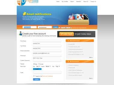 File Sharing Website