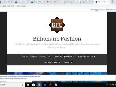 Wordpress Website Design Basic