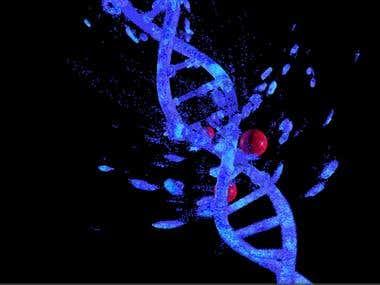 destruction of DNA