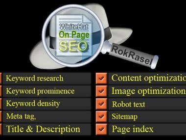 SEO: On Page SEO Project