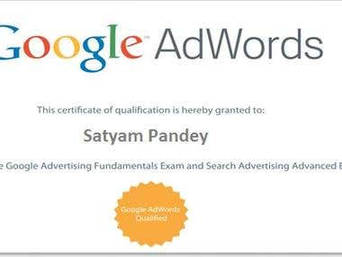 Google Certificate For adword
