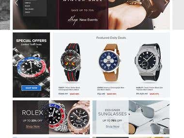 Jomashop eCommerce online Watch Shop
