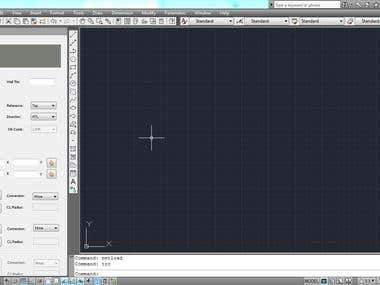 Customized AutoCAD Tool Palette