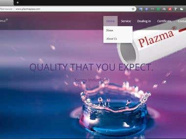 Plazma Pipe Website