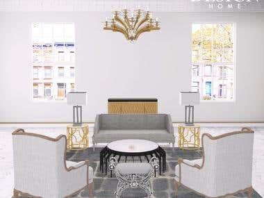 Home ideas with 3d interior design...