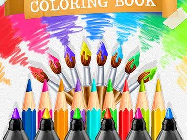 Coloring Pages - Sketchbook art therapy
