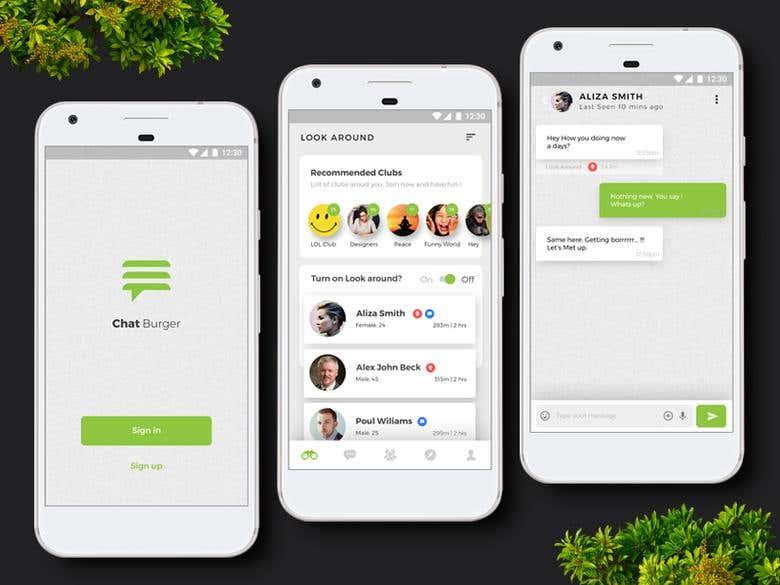 Chatting App - React Native + Firebase | Freelancer