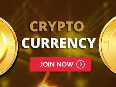 Crypto Banner Design