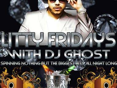 Flyer for nightclub event