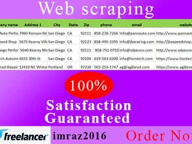 Web Scraping ★ Data Scraping