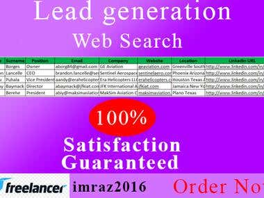 Leads★Web search