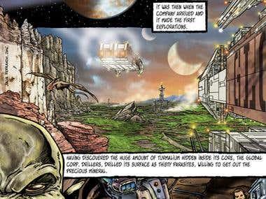 Comic page (Adult comic)