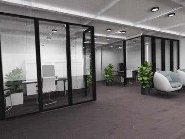 Executives Office Open design