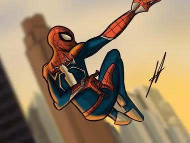 The Spider-Man!