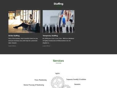 U.K BASED STAFFING COMPANY