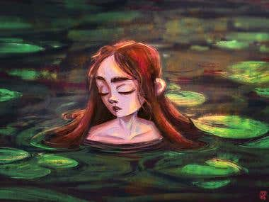 Girl form the lake