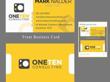 Winning Entry- Business card Design