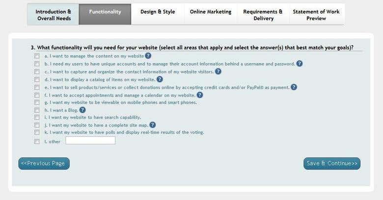 website order calculator | Freelancer