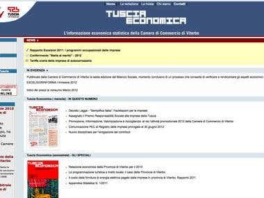 Istitutional online journal web site