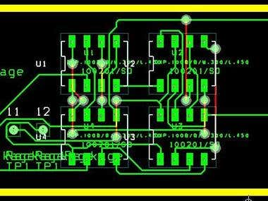 Simple module circuit
