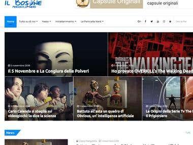 Content Manager e writer presso ilbosone.com