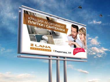 Creative billbord design/Outdoor advertising design