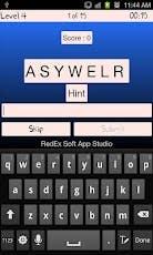 English word jumble Game