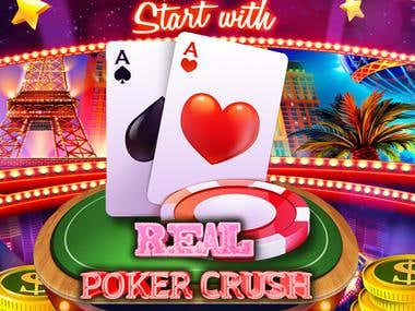 VEGAS POKER _ MULTIPLAYER AND SINGLE PLAYER